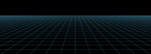 Vector Perspective Grid. Detai...