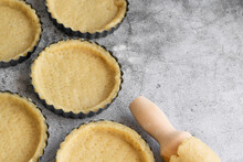 Short Crust Pastry For Pies, Cooking Concept