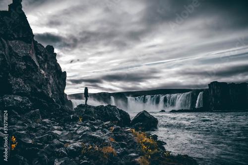 Obraz na płótnie Godafoss - Islande
