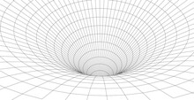 Abstract Tunnel. Network Cyber...