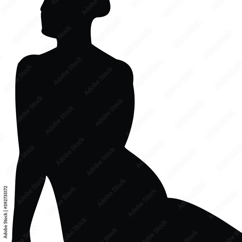 Fototapeta Sylwetka kobiety