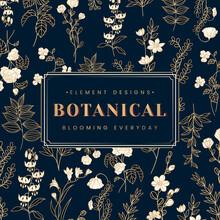 Botanical Text Banner