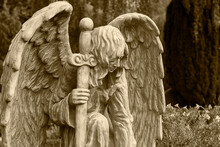 Friedhof, Engel, Statue