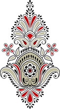 Traditional Indian Paisley Motif
