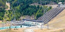 Hydro Power Generator Transmission Line Pylons