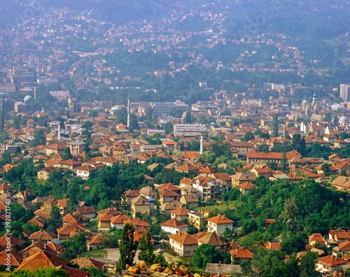 Sarajevo, Bosnia-Herzegovina Canvas Print
