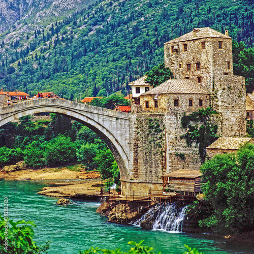 Photo Mostar in Bosnia- Herzegovina