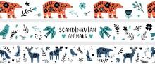 Scandinavian Banners. Nordic W...