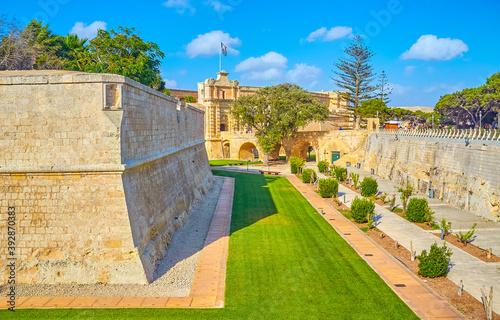 Foto The medieval bastion of Mdina, Malta