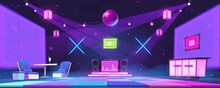 Nightclub With Bar Counter, Ta...