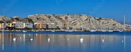 Canvastavla Port du Frioul - Marseille