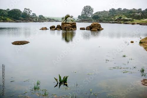 Fotografía Los Barruecos, granite formations and ponds with great animal diversity in a nat