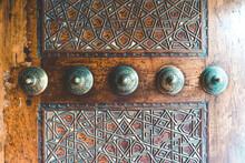 Islamic Pattern On The Wood Wa...