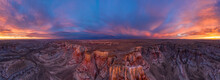 Epic Sunrise Aerial Panorama A...