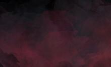 Black Red Dark Grunge Texture Abstract Illustration Background