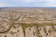 Oil Fields In Kern California Seem To Stretch On Forever