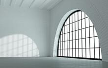 Loft Style Interior With Black...