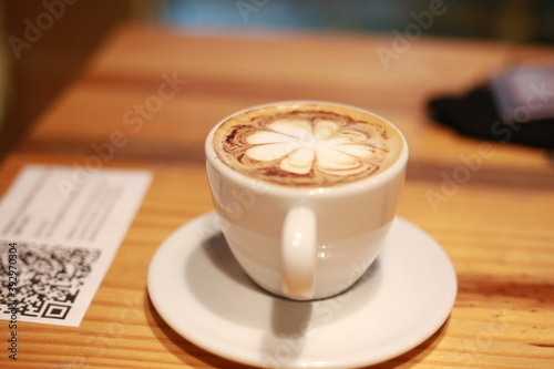 cup of cappuccino Canvas