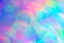 Colorful Blurred Background, F...
