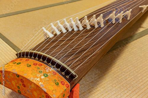 Fotografering 伝統的な和楽器・箏