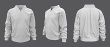 Bomber Jacket Mockup, Design Presentation For Print, 3d Illustration, 3d Rendering
