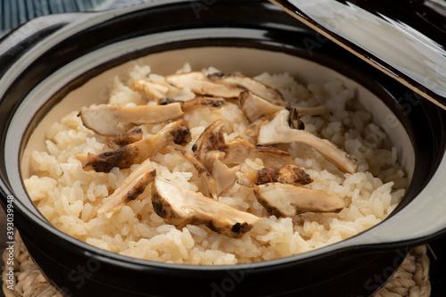Fotografering 松茸ご飯 おいしい松茸料理