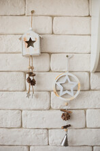 Christmas Wooden Decorations, ...