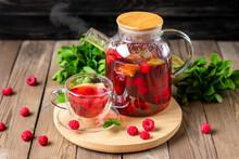 Herbal Tea With Berries, Raspb...