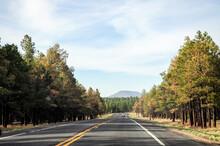 Very Straight Road Going Towar...