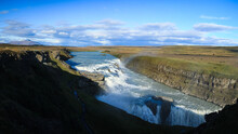 Island, Wasserfall Gullfoss