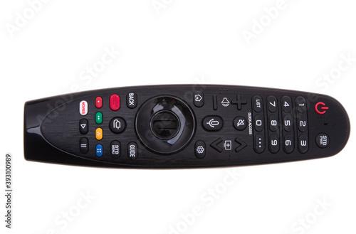Obraz tv remote isolated - fototapety do salonu