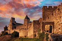 Medieval Fortress Of Carcasson...