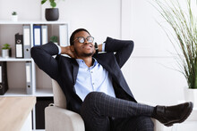 Young African Businessman In F...
