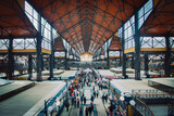 Fototapeta Przestrzenne - Budapest, Große Markthalle