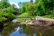 Footbridge In Sofiyivka Park I...