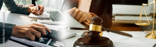 Fotografie, Obraz Justice and law concept