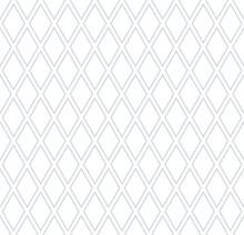 Seamless Geometric Diamonds Lattice Pattern.
