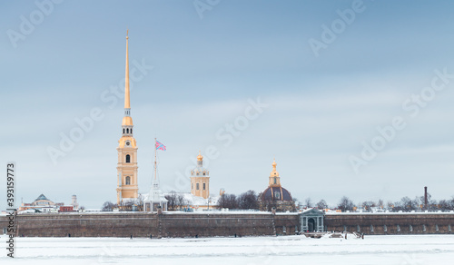 Peter and Paul fortress, Saint-Petersburg, Russia