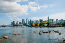 View Of Vancouver Skyline Seen...