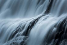 Close Up Of Dynjandi Waterfall
