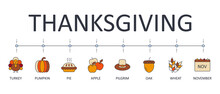 Vector Banner Thanksgiving Day...
