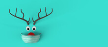 Christmas Toy Abstract Reindee...
