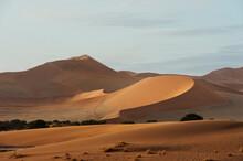View Of Sand Dunes Of Sossusvl...