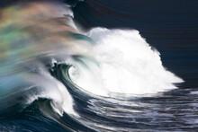 Scenic View Of Ocean Wave