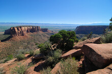 Views From The Colorado National Monument National Park Near Grand Jun