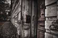 Old Haunted House On The Empty...