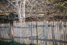 Old Fence In The Countryside