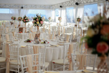 Chairs And Table Decorated Wit...