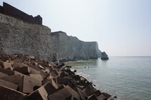 Beautiful Scenery Of The Splash Point Seaford Located In The United Kindgom