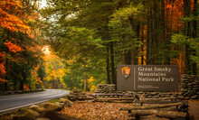 Entrance To The Great Smoky National Park